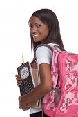 stock photo of african american woman  - education series  - JPG