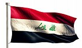 pic of iraq  - Iraq National Flag Isolated 3D White Background - JPG
