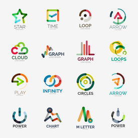 picture of logo  - Abstract company logo collection  - JPG