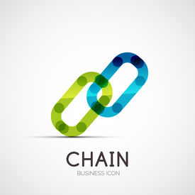 foto of logo  - connection icon company logo design - JPG