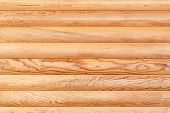 image of log cabin  - Natural background from log wall - JPG