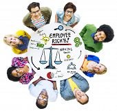 stock photo of women rights  - Employee Rights Employment Equality Job People Diversity Concept - JPG