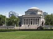 stock photo of mater  - The campus of New York City - JPG