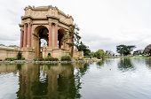 foto of neo-classic  - A view of the dome rotunda of the Palace of Fine Arts in San Francisco California United States of America - JPG