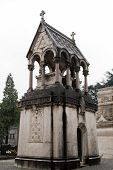 foto of wraith  - Monumental Cemetery in the city of Turin - JPG