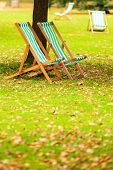 foto of lawn chair  - Travel and tourism - JPG