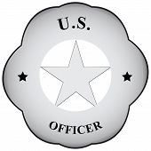 picture of officer  - Abstract symbol officer to carry on the form - JPG