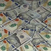 pic of american money  - Background with money - JPG