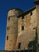 Medieval Castle In Italy poster