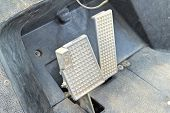 pic of pedal  - Brake and accelerator pedal for cars for drive