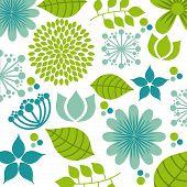 image of obituary  - flowers design over   white background vector illustration - JPG