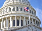 image of capitol building  - Capitol Hill Building closeup shot - JPG