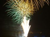 picture of reveillon  - Fireworks at 2010  - JPG