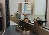 Machine For Testing Samples For Tensile Strength poster