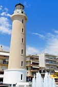 image of firehouse  - The lighthouse of Alexandroupoli city in Greece - JPG
