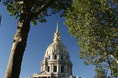 picture of bonaparte  - the invalide building in Paris - JPG