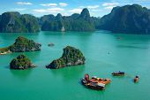 stock photo of hmong  - Picturesque sea landscape - JPG
