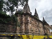 Chedi Chet Yot Temple Chiang Mai, Thailand, Ancient Historic Sites poster