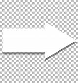 White Arrow Icon On Transparent Background. Flat Style. White Arrow Icon For Your Web Site Design, L poster