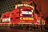LAS VEGAS, US - OCTOBER 13: Fremont Hotel and Casino on October 13, 2011 in Vegas, US. The total gam