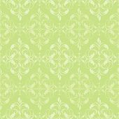 Seamless damask pattern. Vector illustration.