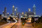 image of freedom tower  - Skyline of Downtown Atlanta - JPG