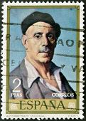 stamp printed in Spain shows self-portrait of Ignacio Zuloaga