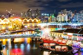 picture of singapore night  - Singapore night - JPG