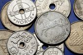 image of fowl  - Coins of Norway - JPG