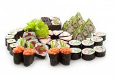stock photo of sushi  - Sushi Set  - JPG