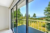 pic of glass water  - House with water view - JPG