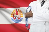 image of french polynesia  - Concept of national healthcare system  - JPG