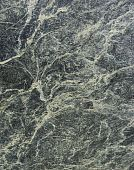 stock photo of porphyry  - black white beige yellow wavy vein marble sheet slab - JPG