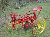 Old Horsedrawn single plough