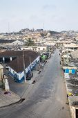 picture of west village  - Cape Coast Cityscape Ghana ,  West Africa ** Note: Soft Focus at 100%, best at smaller sizes - JPG