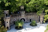picture of mason  - Masonic initiation well in Quinta da Regaleira Sintra Portugal.