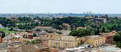 picture of emanuele  - Rome aerial view from Vittorio Emanuele monument - JPG