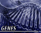 foto of genetic engineering  - Abstract background digital collage concept illustration genes genetics - JPG
