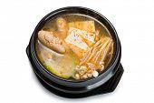 picture of korean  - Pollock roe soup - JPG