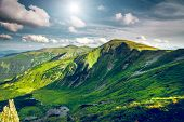 picture of mountain-range  - Chorna hora mountain range - JPG