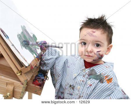 Paint Boy 04 poster