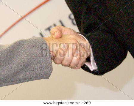 Hand Shake poster