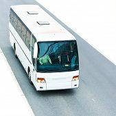 stock photo of land-mass  - bus - JPG