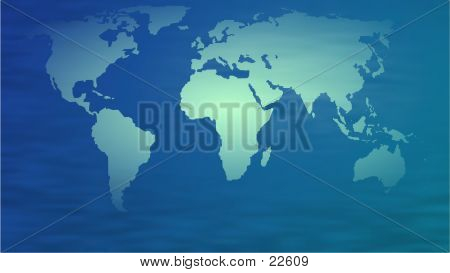 Picture or Photo of Map of the world.