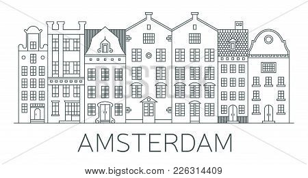 Banner Of Amsterdam City In