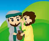picture of judas  - A Bible Stories - JPG
