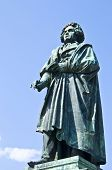 foto of bonnes  - statue of Beethoven on a sunny day in Bonn - JPG