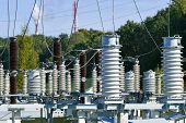 Electric Power Station Transformer High-voltage Equipment Strategic Object Power Unit. Power Station poster