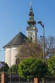 Orthodox Cathedral Church Of Saint George In City Of Novi Sad, Vojvodina, Serbia poster