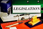 Legislation-the Publication Of Laws In The State. Legislation -- A System Of Legislative Acts Adopte poster